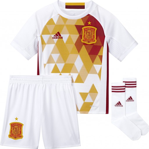 4c1338cdc47 2016-2017 Spain Away Adidas Mini Kit [AA0817] - Uksoccershop