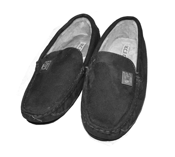 5bf3ddc58df Man City Mens Moccasin Slipper (11 12)