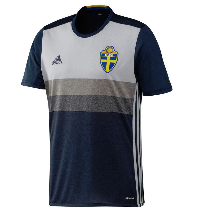 2016 2017 Sweden Away Adidas Football Shirt Aa0456 Uksoccershop